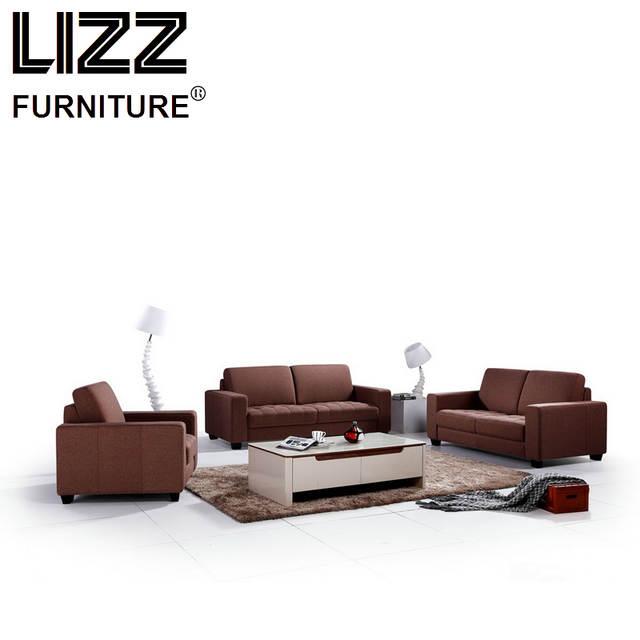 Online Shop Corner Sofas Loveseat Chair Fabric Sectional Sofa Set ...