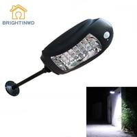 Solar Light 32Leds Super Bright Motion Sensor Lights 3Mode LED Outdoor Lighting Waterproof Street Wall Lamp IP65 Morden