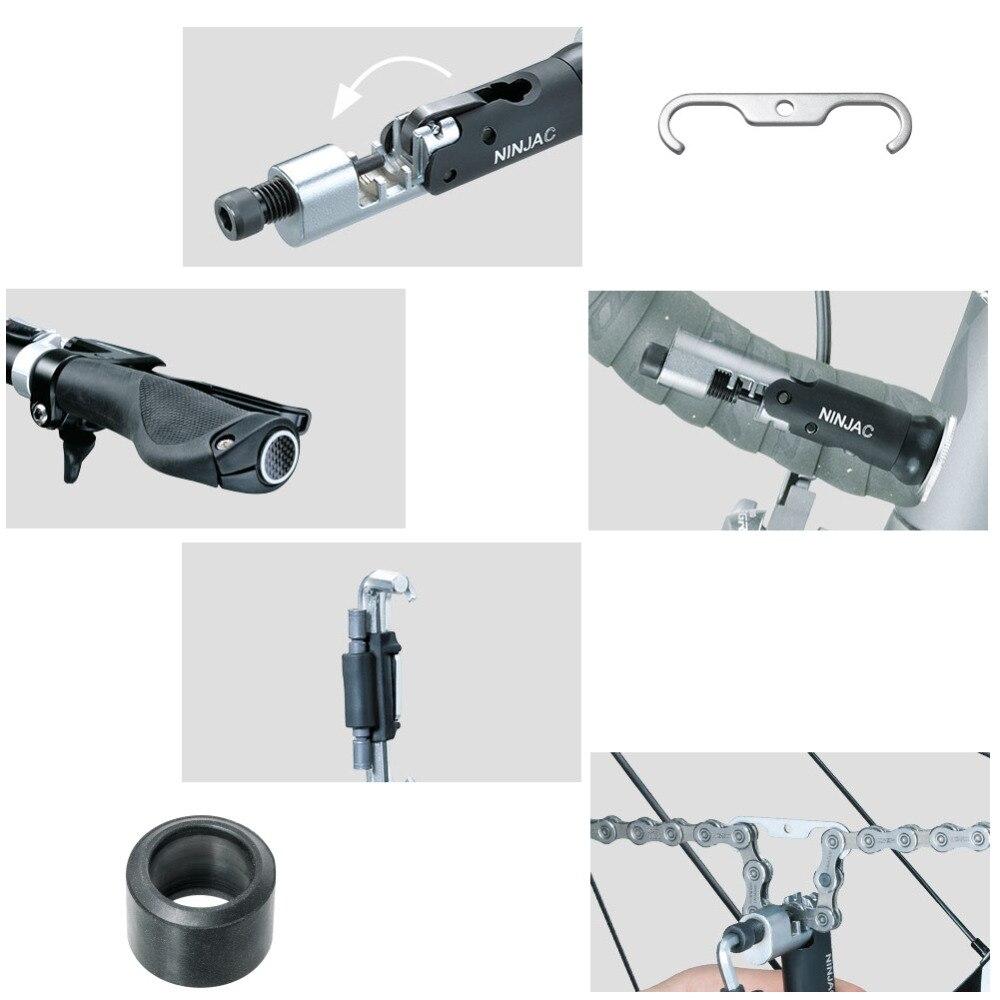 Topeak TNJ-C Ninja C Wrench store inside Handlebar Hook Bike Chain Tool