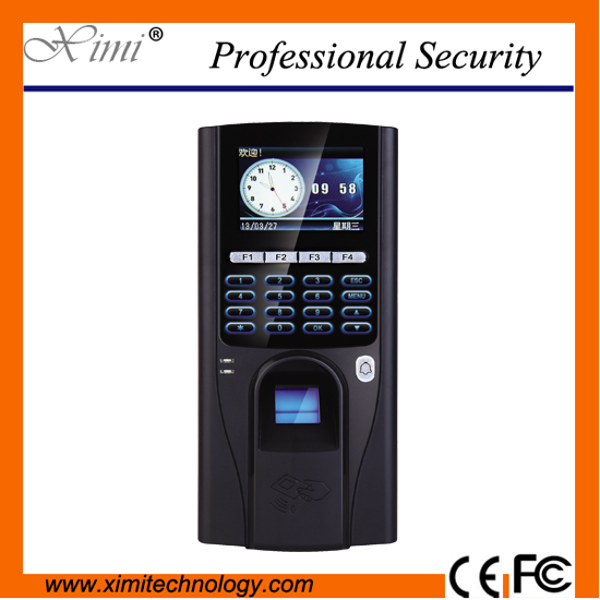 2.8 inch color display TFS20 biometric fingerprint access controller, TCP/IP fingerprint access control reader zk tcp ip wifi network wiegand reader fingerprint reader biometric access controller