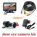 SHRXY 170 градусов широкоугольная камера для дверного глаза 700TVL цилиндрическая мини-камера видеонаблюдения с 7