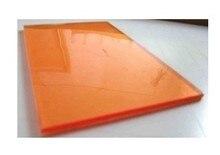 Photo plaques polymères lavables à leau, 10 pièces pour estampage à feuille chaude, format A4
