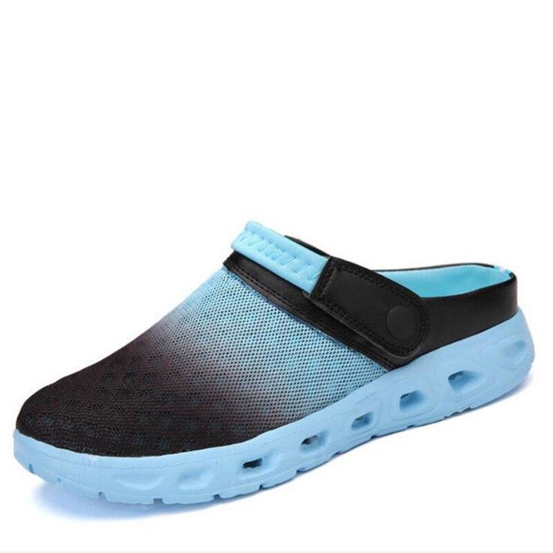 Chaussures Hommes Couple Goods 19 D'oiseau Trou De Plage quality Quality Sandales Pantoufles Modèles Goods Taille Grande D'été Nid Maille Nouveau Casual Xp55qwga