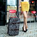20 inch foldable travel tote luggage trolley bag duffle bag on wheels