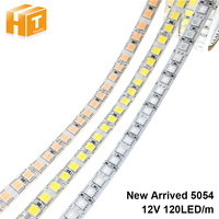 LED Streifen 5054 DC12V 120LEDs/m 5M Flexible Band Licht Warmweiß Kaltweiß Eis Blau Rosa, RGB LED Streifen 5050 120LED/M.