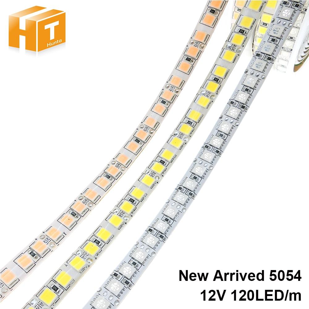 LED Strip 5054 DC12V 120LEDs/m 5M Flexible Tape Light Warm White  Cold White  Ice Blue  Pink,RGB LED Strip 5050 120LED/M.