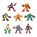 Free Ship8pcs/lot 6-7cm Avenger Marvel Super Hero Spiderman Iron man Captain America Hulk Thor Action Figure Toys For Children