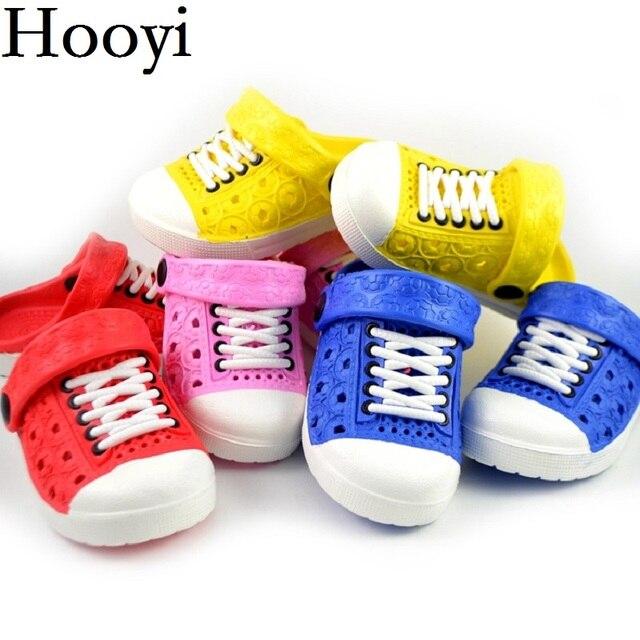 Mùa hè Bé Trai Sandals Hollow Thời Trang Dây Đai Cô Gái Moccasin Dép Trẻ Em Toddler Giày Dép Trẻ Sơ Sinh Sneakers Trẻ Em Flip Flops