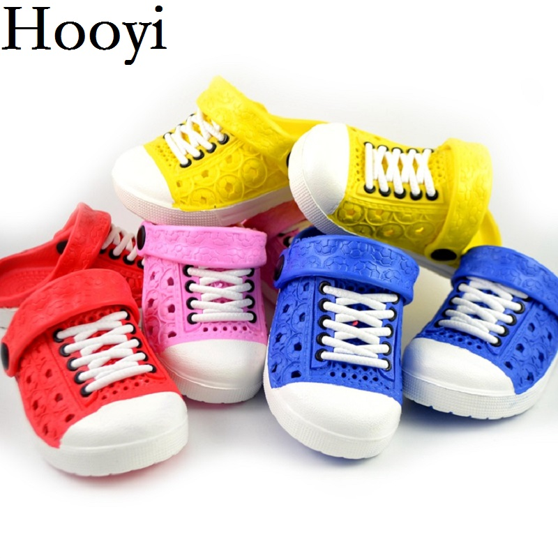 Summer Baby Boy Sandals Hollow Fashion Shoelace Girls Moccasin Children Slipper Toddler Shoes Infant Sneakers Kids Flip Flops
