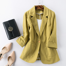 women's Slim Thin section work jacket short suit blazer jack