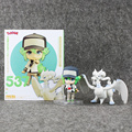 Anime N & Reshiram Linda Nendoroid 537 # Ver. PVC Figura de Acción DEL PVC Colección Modelo de Juguete Muñeca Regalos