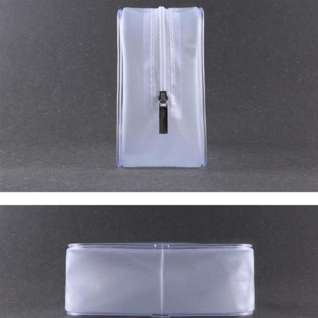 Reise Transparente Kosmetik Tasche PVC Frauen Zipper Klaren Make-Up Taschen Fall Machen Up Organizer Lagerung Bad Kultur Wash Tasche