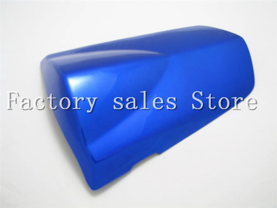 For Suzuki GSXR-1000 GSXR1000 GSXR 1000 2003 2004 03 04 K3 Rear Seat Cover Cowl,solo Racer Scooter Seat Motorcycle Blue