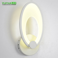 YLSTAR Free shipping 12W 24W Cylindrical Led Wall Light Makeup Lights Indoor Bathroom Dressing room Kitchen Decor Cabinet Lights