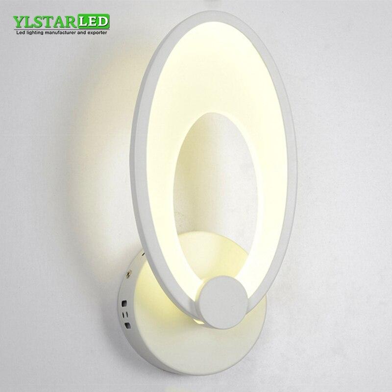 YLSTAR livraison gratuite 12 W 24 W cylindrique mur LED lumière maquillage lumières intérieur salle de bain Dressing cuisine décor armoire lumières