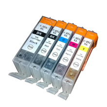 Pgi250 cartucho de tinta compatible para canon mg5420 mg5422 mg5520 mg5522 mg6420 ip7220 mx722 mx922 ix6820 impresora pgi 250 5 unids