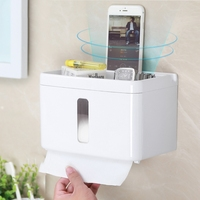 Toilet waterproof tissue box toilet toilet paper rack free punch pumping cartons toilet paper cartons roll paper cartons