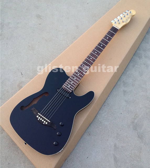 Custom shop TL Electric guitar with F hollow hole, rosewood Bridge, EC65