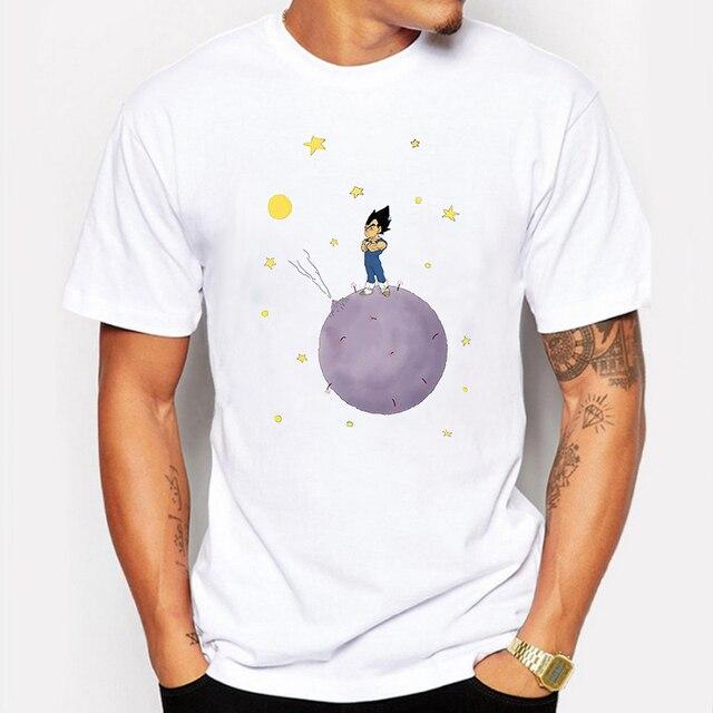 Super Saiyan Son Goku Men t shirt Short Sleeve Casual Printed Japan Anime Tee Shirts The Dragon Ball Z Tops tee shirt homme