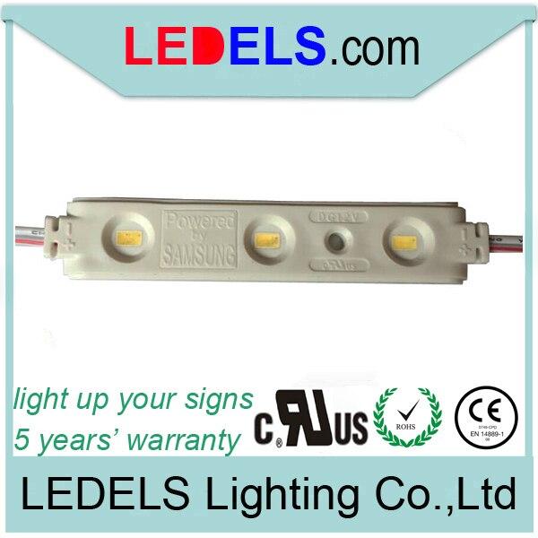 ce rohs dc12v Led module strip for signage lighting