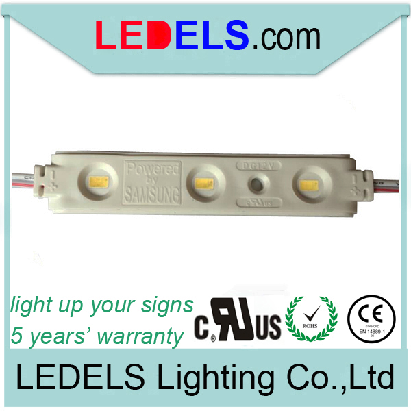 ce rohs dc12v Led module strip for signage lighting