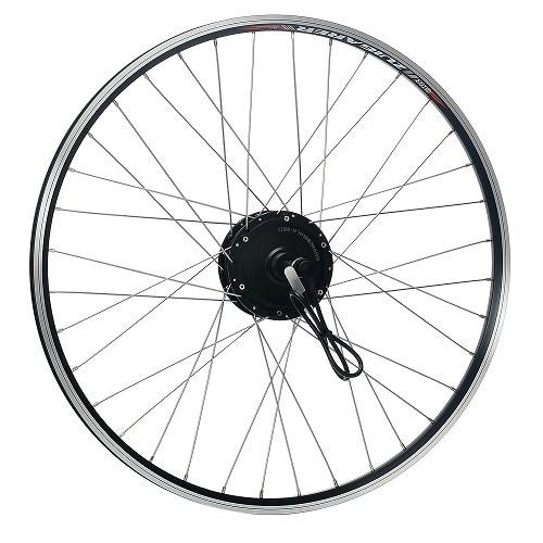 YOSE POWER 36V250W Front Wheel Motor E-bike Conversion Kits 26 Inch with Brushless Motor Black Retrofit Kit for Electric Bicycle