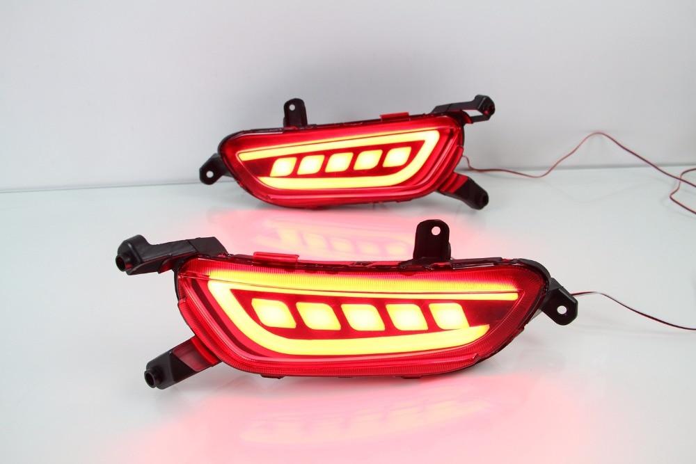 Osmrk светодиодные задние бампера света, стоп-сигнала, дальнего света, ночная лампа для Мазда CX-3 2016-17