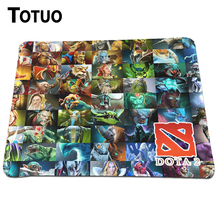 Wholesale And Retail Lock Edge Mushy Rubber Mouse Mat Dota 2 Brand Printing Gaming Mousepad For Laptop Laptop computer Optical Mice Pad