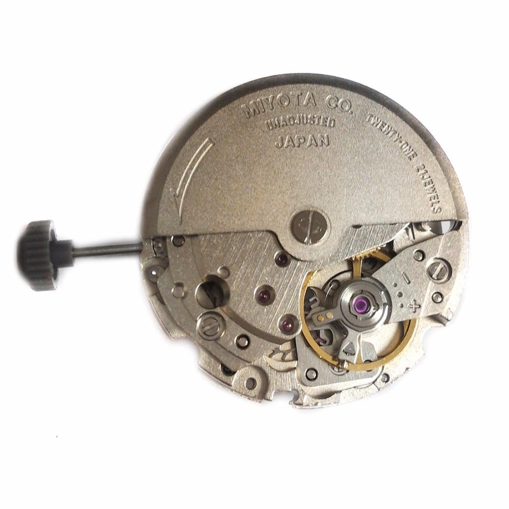 Miyota 8215 Meccanico Automatico 3 Mani Data 21 Gioielli Giappone Fatto Nuovo Originale MO1017A-in Orologi meccanici da Orologi da polso su  Gruppo 2
