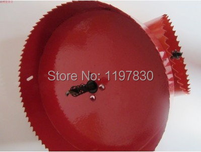 Free shipping universal hole saw 160mm M42 Bi-metal hole Saw steel iron wood plastic hole opener underreamer pipeline perforator