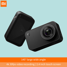 Xiaomi Mijia Mini Camera 4K 30fps Video Recording 145 angle 2.4inch touch screen 6Axis EIS Sport Action Wifi Bluetooth Portable(China)