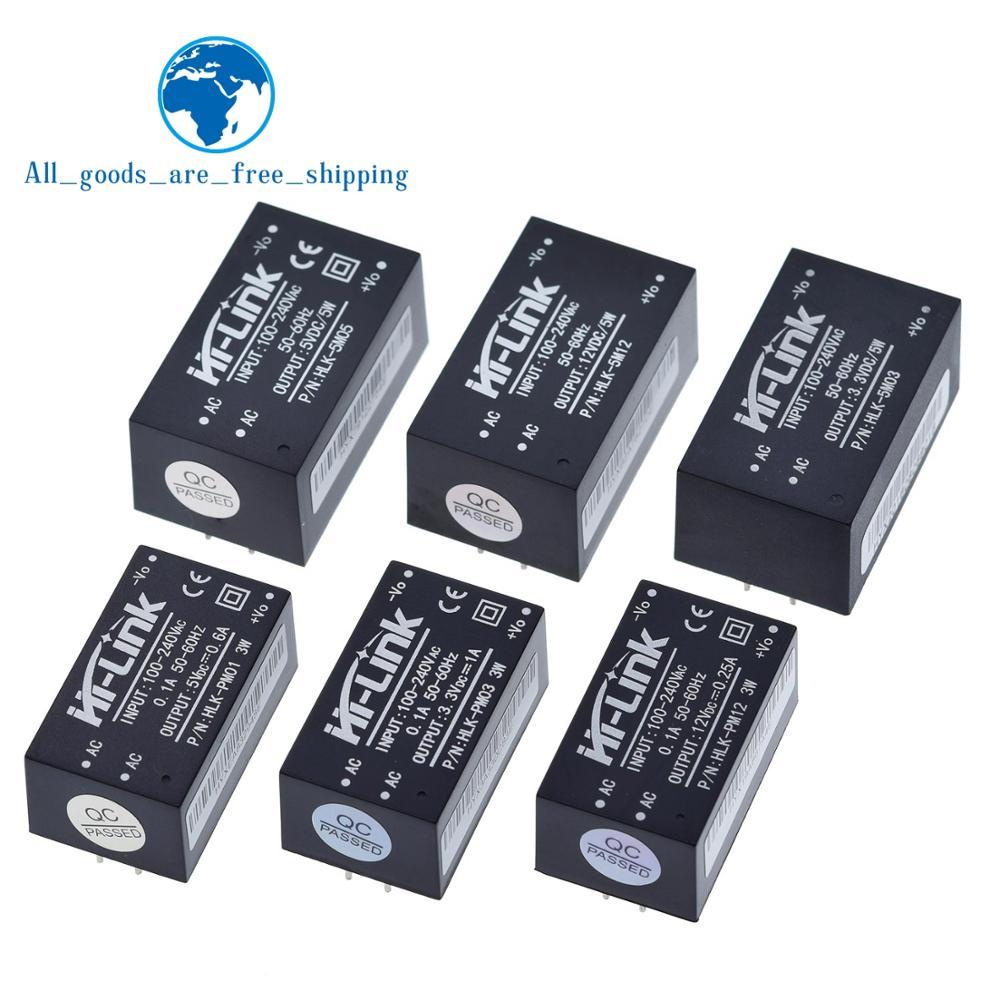 HLK-PM01 HLK-PM03 HLK-PM12 AC-DC 220V To 5V/3.3V/12V Mini Power Supply Module,intelligent Household Switch Power Supply Module