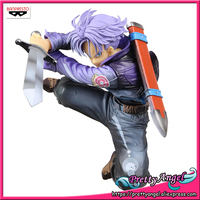 Genuine Banpresto SCultures BIG Zoukei Tenkaichi Budoukai 4 Dragon Ball Z Trunks SHINING COLOR Ver. Collection Figure