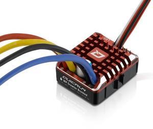 Image 3 - Hobbywing cepillo trepador QuicRun 1:10 1/8 WP, cepillado, 80A 1080, controlador electrónico de velocidad, resistente al agua, ESC con caja de programa, LED BEC
