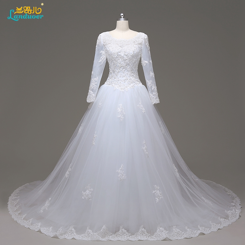 Online get cheap muslim wedding gown for Cheap muslim wedding dresses