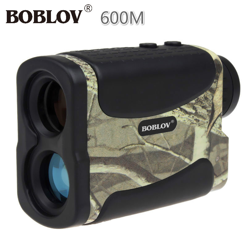 BOBLOV 600M Multifunction Camo Rangefinder 6x Portable Laser Range Finder Monocular Telescope For Hunting Golf Distance Outdoor цена и фото