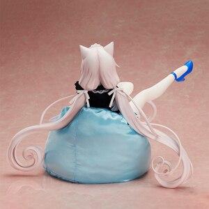 Image 3 - 2019 Native Bindung NEKOPARA Chocola Vanille PVC Action Figure Anime Sexy Mädchen 1/4 Skala Echte kleidung Abbildung Modell Spielzeug Für Erwachsene