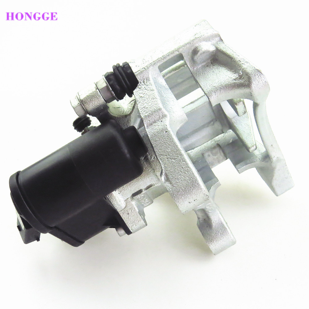 HONGGE Rear Left Car Hand Brake Assembly For VW CC Passat B6 B7 Tiguan Sharan Q3 Seat Alhambra 5N0 615 403 3C0998281B 32332267