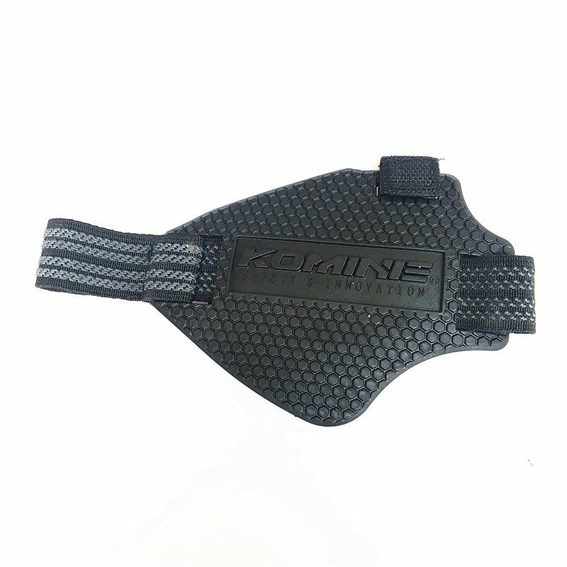 Komine tragen-wider Gummi Motorrad Getriebe Shift Pads Reiten Schuhe Scuff Mark Protector Motorrad Stiefel Abdeckung Shifter Wachen