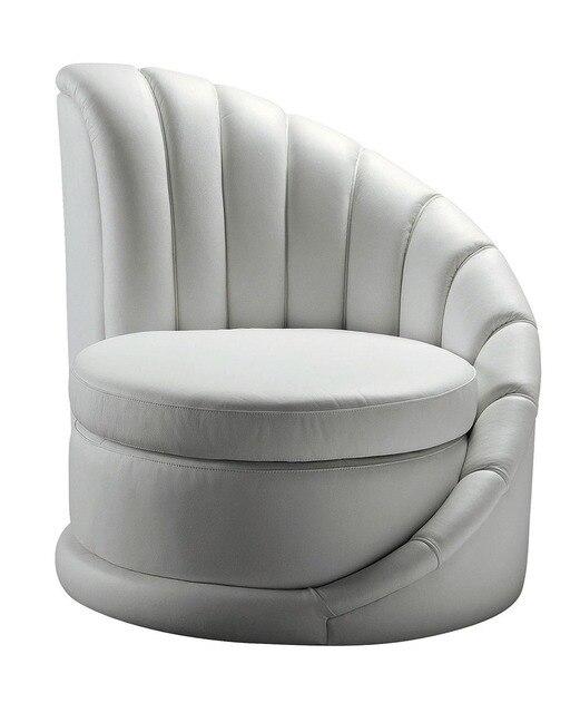 Koe lederen stoel/echte lederen leisure stoel/woonkamer stoel ...