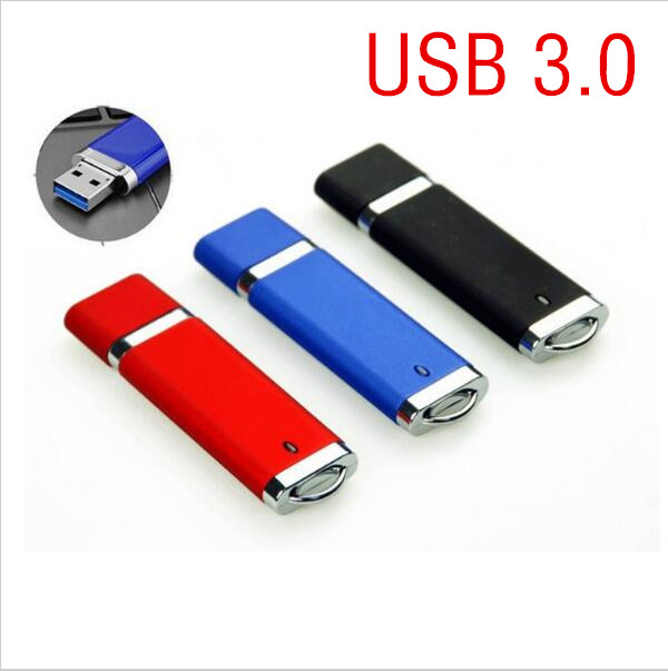 3 Colors High Speed Device USB 3.0 Flash Drives Pendrive 64GB 32GB 16GB 8GB Pen Driver Personalized Clef USB Flash Jump Drives
