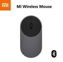 Беспроводная мышь Xiaomi Mi, портативные игровые мышки из алюминиевого сплава, АБС пластик, 2,4 ГГц Wi Fi Bluetooth 4.0