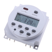 Timer Switch for Solar Lights Digital Programmable Timer DC/AC 12 Volt hot for Led Lamp Water Heater Sprayer