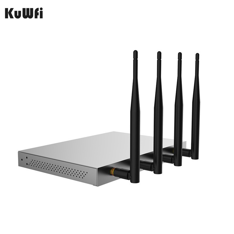 Image 5 - 1200Mbps 2.4GHz 5.0GHZ Dualband 802.11AC Gigabit OpenWrt WiFi Wireless Router MT7621A Chipset Gigabit Port With English Firmware-in Wireless Routers from Computer & Office