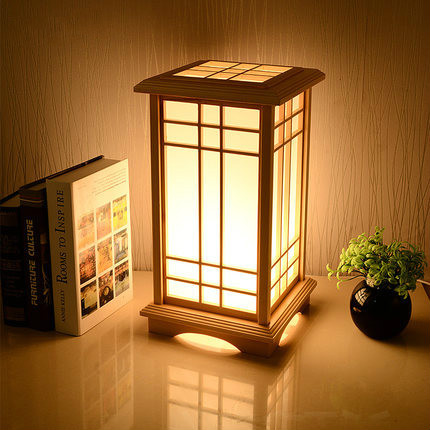 tatami led houten lamp stand verlichting vloer creatieve door gesneden vloerlamp eenvoudige stand lichtpunt japanse