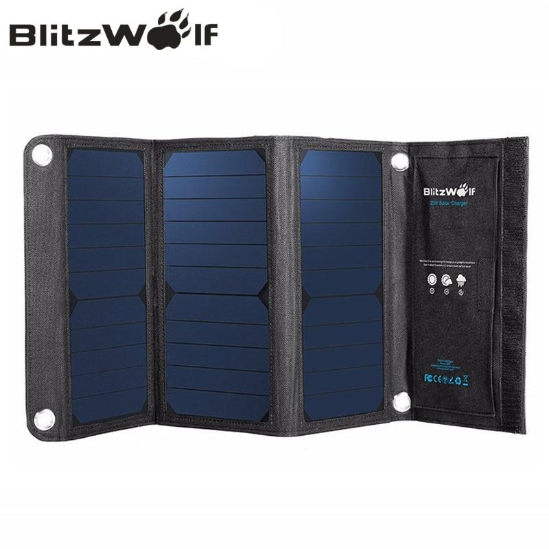 BlitzWolf Portable Solar Power s