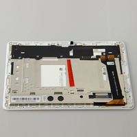 test good 10.1 inch LCD display + touch screen panel assembly with frame For Asus Memo Pad 10 ME102A ME102 K00F