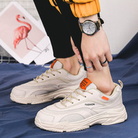 Men Casual Shoes New Spring Paris family Mesh Lace Up Sports and Casual old shoes Youth Men's shoes