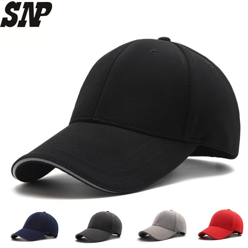 SNP High quality   baseball     cap   women men snapback hats male dad bone   cap   casquette gorras black   baseball     caps   Adjustable size