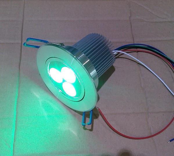 անվճար առաքում Եվրոպա RGBW 4in1 3X4W LED - LED լուսավորություն - Լուսանկար 4